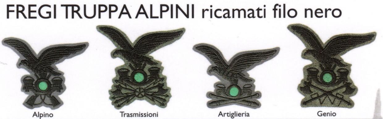 Fregi truppa Alpini