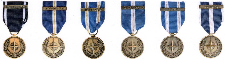 Medaglie NATO