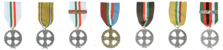 Medaglie missione di pace
